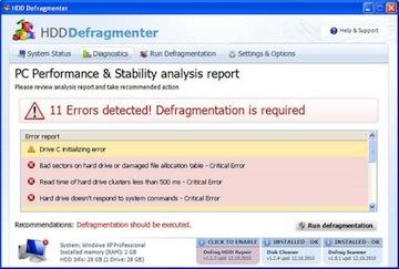 HDD Deframenter