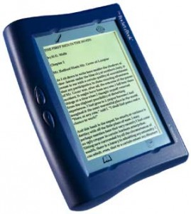 eBook reading device - Rocket ebook
