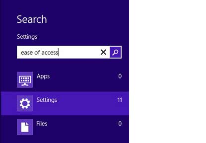How to Search Your Files in Windows 8